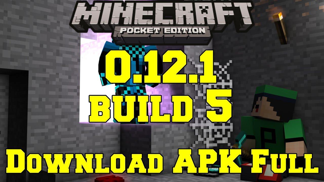 Скачать Minecraft PE 0.12.1 / 0.12.2 / 0.12.3