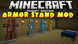 Armor Stand Mod — стойки для брони