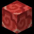 Красная глазурованная плитка в Майнкрафте.