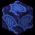 Синяя глазурованная плитка в Майнкрафте.