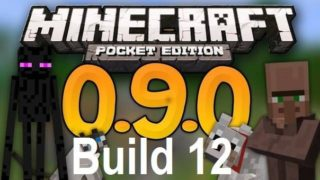 Minecraft 0.9.0 — Pocket Edition (build 12)