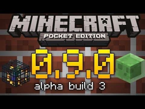 Minecraft Pocket Edition 0.9.0 (Build 3) от Mojang
