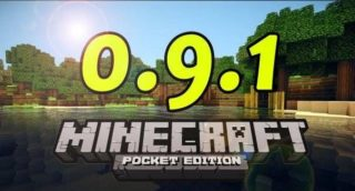 Minecraft Pocket Edition (PE) 0.9.1/0.9.0 для Android