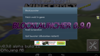 BlockLauncher для версий 0.9.x Minecraft PE (Pocket Edition)