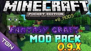 Мод на новые мечи, руду и броню для Minecraft PE 0.9.5