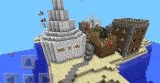 Карта Villarge Park для Minecraft Pocket Edition 0.9.0