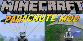 Мод Parachute для Minecraft 1.7.10