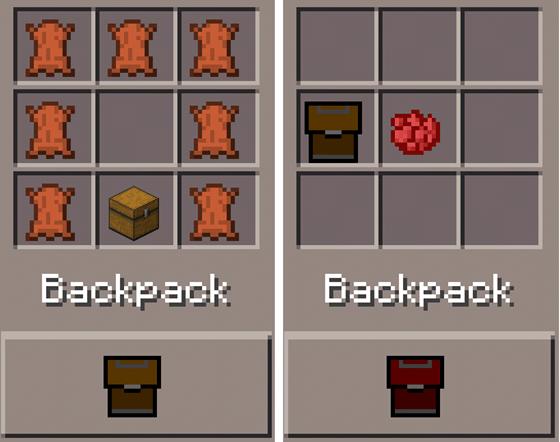 Не хватает места в рюкзаке? - Тогда мод Backpack (мод на рюкзаки) для Вас. Мод Backpack (рюкзаки) для Minecraft Pocket Edition 0.9.4 работает на свеженькой  версии майнкрафта 0.9.4. С ним проблема нехватки места исчезнет раз и навсегда.