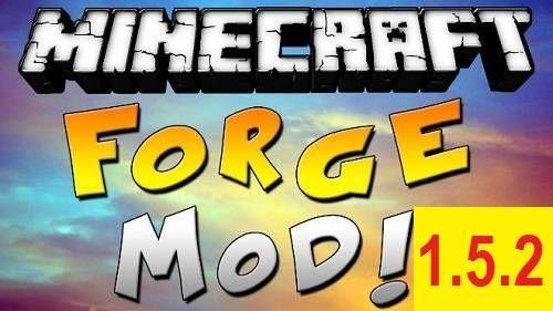 Minecraft Forge Mod для версии 1.5.2