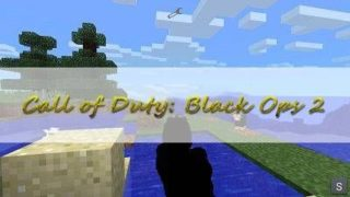 Мод «Call of Duty: Black Ops 2» для Minecraft PE 0.9.5