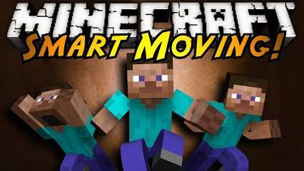 Мод SMART MOVING v2 — Minecraft Pocket Edition 0.9.0