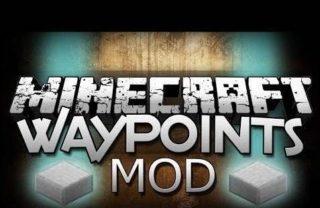 Мод WAYPOINTS для Minecraft Pocket Edition (PE) 0.9.0