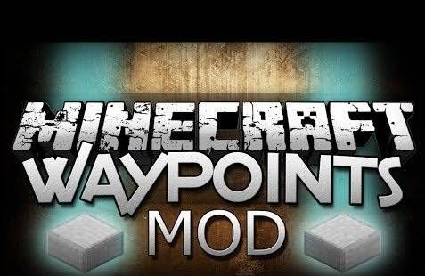 Мод WAYPOINTS для Minecraft Pocket Edition (PE) 0.9.0