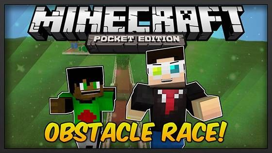 Карта «Бег с препятствиями» Obstacle Race [0.9.5]