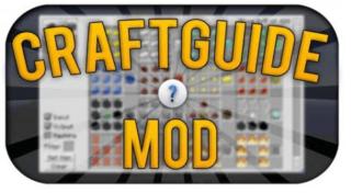 Мод CraftGuide для Minecraft Pocket Edition (PE) 0.9.5