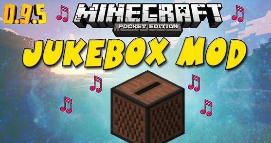 ♬ Мод Jukebox — музыкальный автомат Minecraft PE [0.9.5]