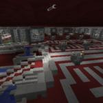 Очень качественная и красивая карта. Это настоящий замок, или дворец. Все сделано симметрично и в красных тонах. Вам обязательно понравится.