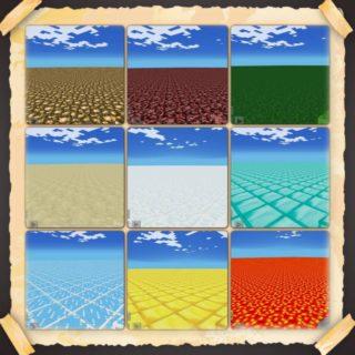 Подборка плоских карт для Minecraft PE