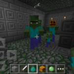 More Zombies добавляет в игру новых зомби, так Вы получите на Pocket Edition те виды монстров, которые встречаются в ПК версии Майнкрафта и его модах.