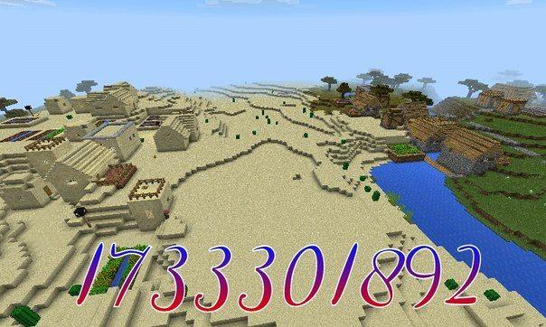 Сид 1733301892 - это биом с деревней