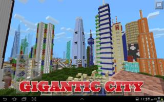 Карта Gigantic City. Для Minecraft PE 0.9.5