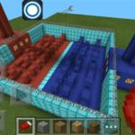 Классная PVP-карта на которой можно устраивать сражения по сети 5 на 5. Карта PaintBall Wars работает на новенькой версии Minecraft PE 0.10.0