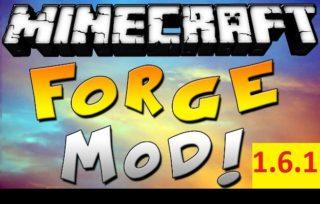 Minecraft Forge для версии 1.6.1