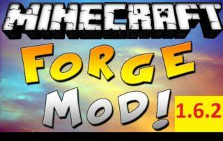 Minecraft Forge для версии 1.6.2