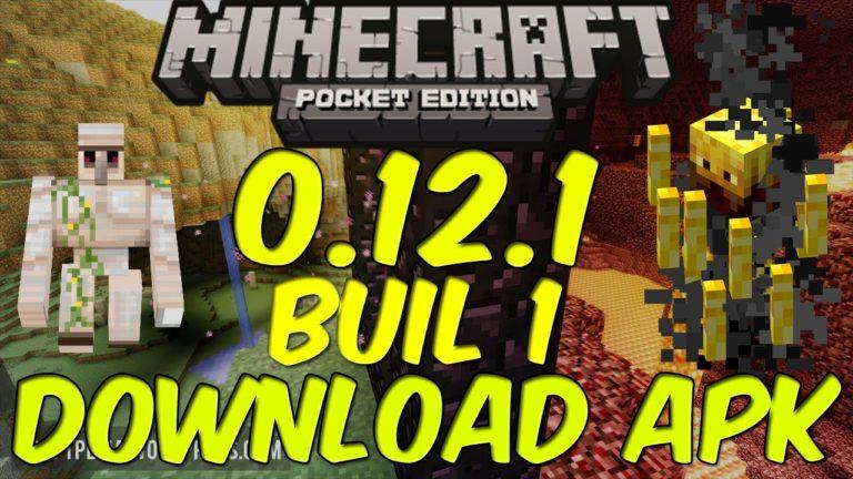 Minecraft Pocket Edition (PE) 0.12.1 build 1