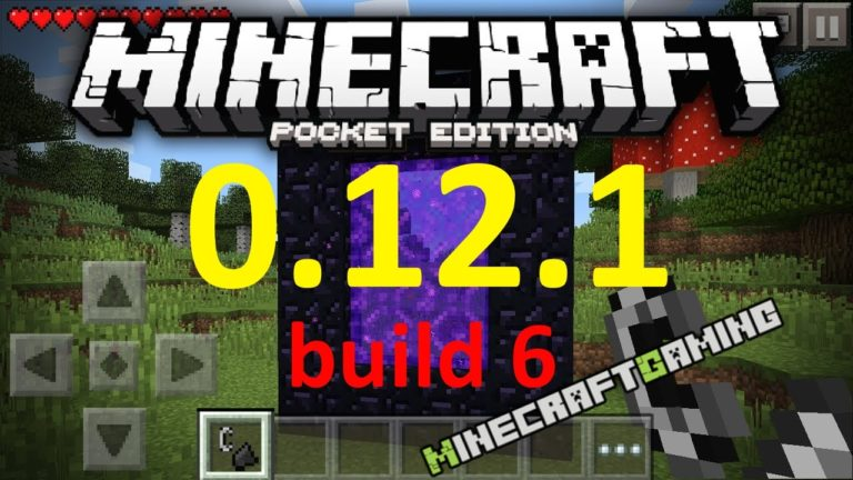 Minecraft Pocket Edition (PE) 0.12.1 build 6