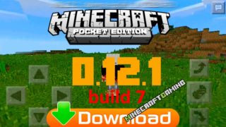 Minecraft Pocket Edition (PE) 0.12.1 build 7