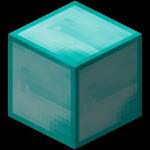 Алмазный блок в Майнкрафте.