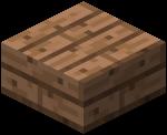 Плита из тропического дерева