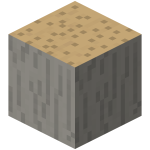 Блок огромного коричневого гриба