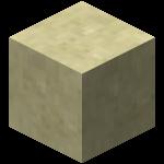 Двойная плита из гладкого песчаника в Майнкрафте.