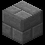 Двойная каменная кирпичная плита в Майнкрафте.