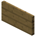 Блок знака на стене