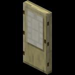 Берёзовая дверь в Майнкрафте.