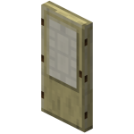 Берёзовая дверь