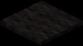 Чёрный ковёр в Майнкрафте.