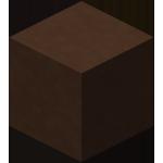 Коричневая обожжённая глина