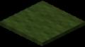 Зелёный ковёр в Майнкрафте.