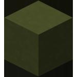 Зелёная обожжённая глина в Майнкрафте.