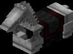 Железная конская броня в Майнкрафте.