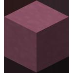 Сиреневая обожжённая глина в Майнкрафте.