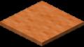 Оранжевый ковёр в Майнкрафте.
