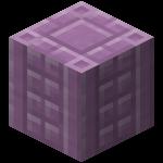 Пурпурная колонна в Майнкрафте.