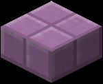 Пурпурная плита в Майнкрафте.