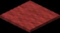 Красный ковёр в Майнкрафте.