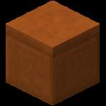 Гладкий красный песчаник в Майнкрафте.